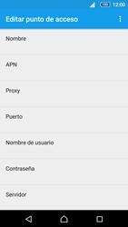 Sony Xperia Z5 - Mensajería - Configurar el equipo para mensajes multimedia - Paso 8