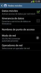 Samsung Galaxy S4 Mini - Red - Seleccionar una red - Paso 6