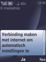 Nokia 6700 classic - E-mail - e-mail instellen: POP3 - Stap 11