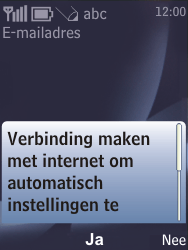 Nokia 6700 classic - E-mail - handmatig instellen - Stap 11