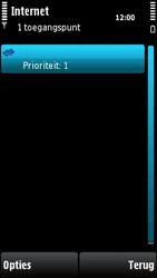 Nokia X6-00 - Internet - handmatig instellen - Stap 14
