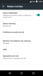 Alcatel Idol 3 - Red - Seleccionar una red - Paso 6