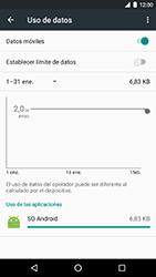 LG Google Nexus 5X (H791F) - Internet - Ver uso de datos - Paso 8