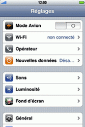 Apple iPhone 3G - Internet - Configuration manuelle - Étape 3