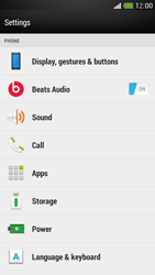 HTC One Mini - Voicemail - Manual configuration - Step 4