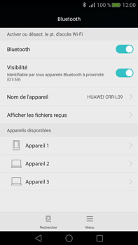 Huawei Mate S - Bluetooth - connexion Bluetooth - Étape 7