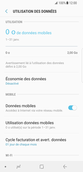 Samsung Galaxy S8 - Android Oreo - Internet - activer ou désactiver - Étape 6