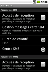 LG GW620 - SMS - configuration manuelle - Étape 4