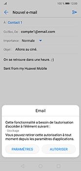Huawei P20 Lite - E-mail - envoyer un e-mail - Étape 11