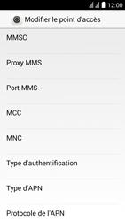 Huawei Y625 - MMS - Configuration manuelle - Étape 9