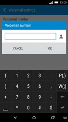 HTC One M8s - Voicemail - Manual configuration - Step 9
