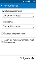 Samsung Galaxy J1 (J100H) - E-mail - Account instellen (POP3 zonder SMTP-verificatie) - Stap 14