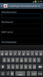 Samsung I9300 Galaxy S III - E-mail - Handmatig instellen - Stap 10