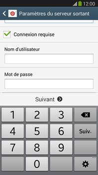 Samsung N9005 Galaxy Note III LTE - E-mail - Configurer l