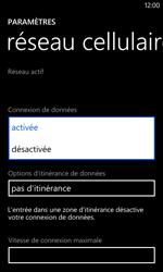 Nokia Lumia 520 - Internet - Désactiver les données mobiles - Étape 6