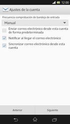 Sony Xperia Z - E-mail - Configurar correo electrónico - Paso 17