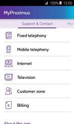 Samsung Galaxy J1 - Applications - MyProximus - Step 22