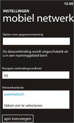 Nokia Lumia 610 - Netwerk - gebruik in het buitenland - Stap 8