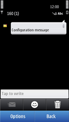 Nokia N8-00 - Internet - Automatic configuration - Step 4