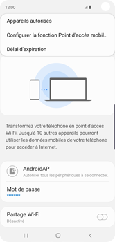 Samsung Galaxy S10 - Internet - comment configurer un point d'accès mobile - Étape 9