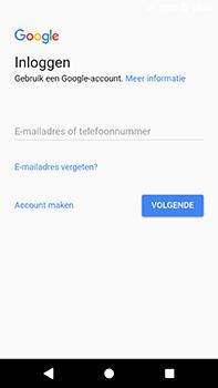 Sony Xperia XA2 Ultra - Applicaties - Account instellen - Stap 4