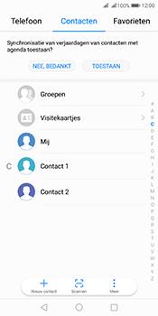 Huawei Mate 10 Pro Dual-SIM (Model BLA-L29) - Contacten en data - Contacten overzetten via Bluetooth - Stap 3