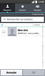 LG F70 - E-mails - Envoyer un e-mail - Étape 6