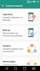LG K4 (2017) (LG-M160) - Contacten en data - Contacten kopiëren van SIM naar toestel - Stap 8