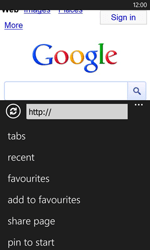 Nokia Lumia 620 - Internet - Internet browsing - Step 7