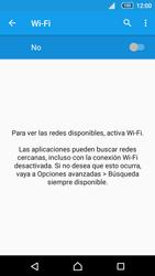 Sony Xperia Z5 Compact - WiFi - Conectarse a una red WiFi - Paso 5