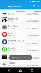Sony Xperia M4 Aqua - Applications - Supprimer une application - Étape 8