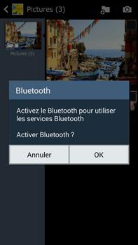 Samsung Galaxy Note 3 - Photos, vidéos, musique - Envoyer une photo via Bluetooth - Étape 11