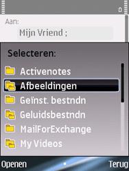 Nokia E75 - E-mail - hoe te versturen - Stap 10