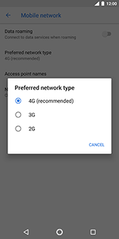 Nokia 7 Plus - Network - Change networkmode - Step 8
