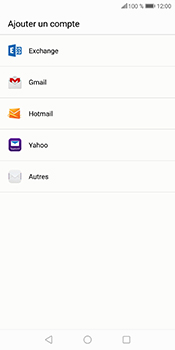 Huawei P Smart - E-mail - Configuration manuelle - Étape 6
