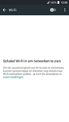 HTC U Play - WiFi - Handmatig instellen - Stap 6