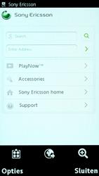Sony Ericsson U8i Vivaz Pro - Internet - Handmatig instellen - Stap 16