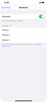 Apple iPhone 11 - Bluetooth - Pair with another device - Step 5