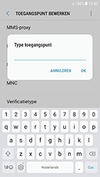 Samsung A520F Galaxy A5 (2017) - Android Nougat - Internet - Handmatig instellen - Stap 14