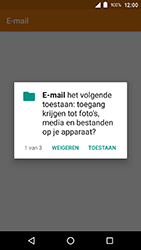 Crosscall Action X3 - E-mail - e-mail instellen (outlook) - Stap 4