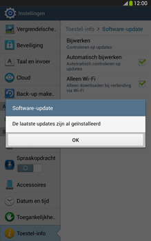 Samsung T315 Galaxy Tab 3 8-0 LTE - Software update - update installeren zonder PC - Stap 9