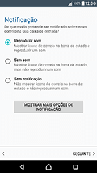 Sony Xperia XA (F3111) - Email - Adicionar conta de email -  14
