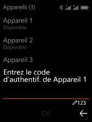 Nokia 3310 - Internet et connexion - Connexion avec un équipement multimédia via Bluetooth - Étape 10