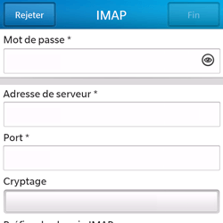 BlackBerry Q5 - E-mail - Configuration manuelle - Étape 10