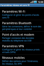 Samsung S5660 Galaxy Gio - Internet - Configuration manuelle - Étape 5