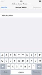 Apple iPhone 6 Plus iOS 8 - Wifi - configuration manuelle - Étape 5