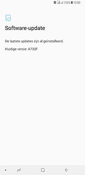 Samsung Galaxy A8 Plus - Software update - update installeren zonder PC - Stap 7