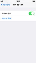 Apple iPhone 5s - iOS 12 - Segurança - Como ativar o código PIN do cartão de telemóvel -  8