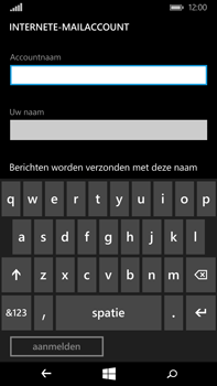 Microsoft Lumia 640 XL - E-mail - Account instellen (IMAP zonder SMTP-verificatie) - Stap 10