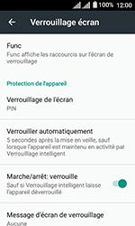 Alcatel U3 - Sécuriser votre mobile - Activer le code de verrouillage - Étape 12